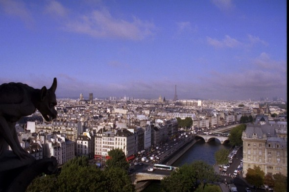Notre Dame view 2001